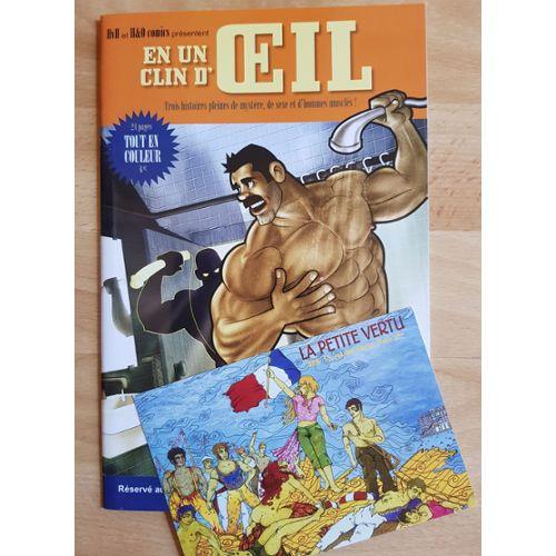 Gay Livre Revue Bd Dessin Comics H O Et Hvh En Un Clin D Oeil Annee 2007