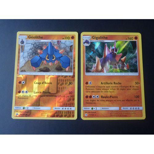 Pokemon Geolithe 70//149 Reverse Foil Soleil et Lune FR