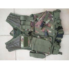Camouflage WL V/ég/étato Miltec Gilet de Combat RSA