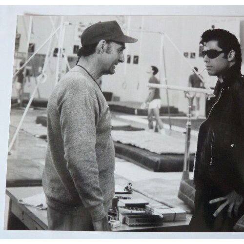 24x30 cm Photo noir et blanc de Sean Connery et Ursula Andress