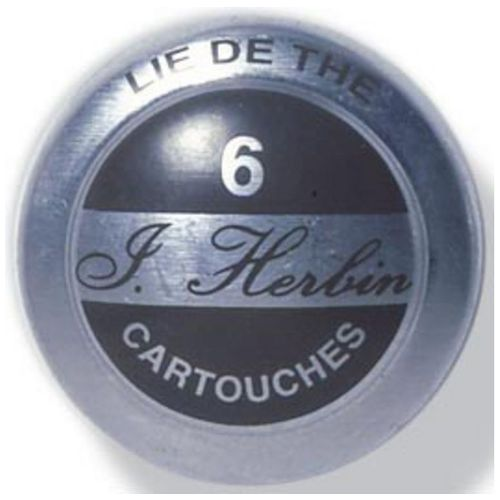 J Herbin Cartouches dencre Bo/îte avec 6/cartouches pour Standard Stylo Contenu du 2x6 Teebraun