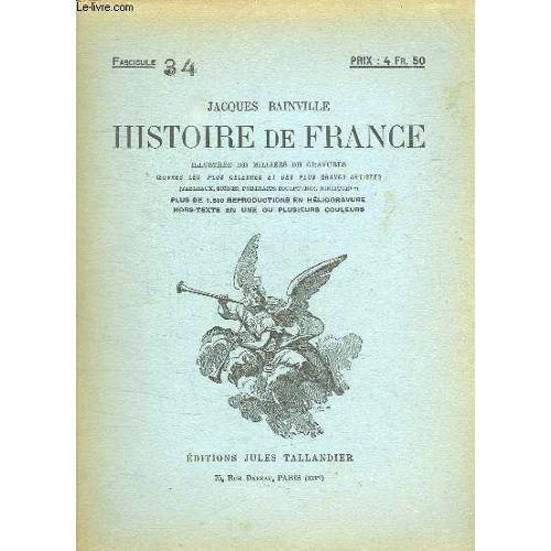 Histoire De France Fascicule N 34