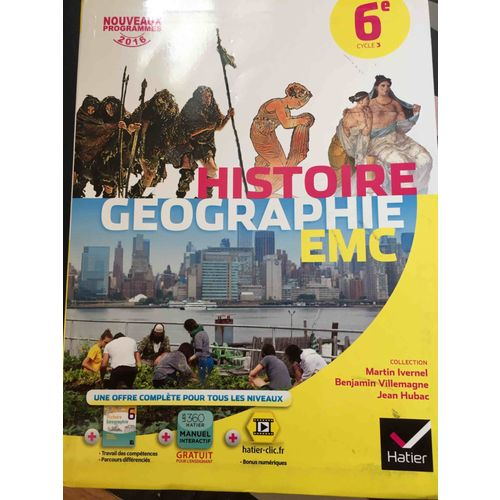 Histoire Geographie Emc 6e Rakuten