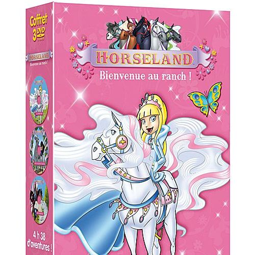 Horseland Bienvenue Au Ranch Coffret 13 Aventures Pack