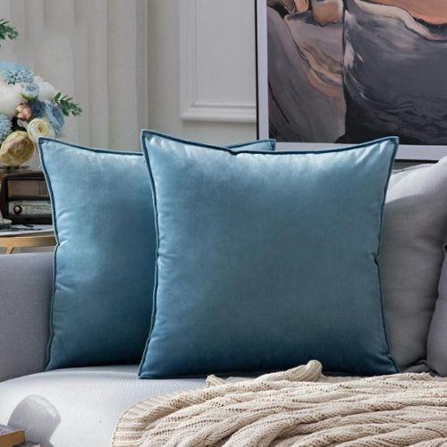 Throw Home Décoration doux fait main broderie canapé oreiller De Luxe Housse De Coussin