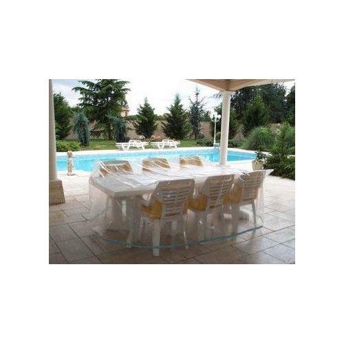 Housse de protection table de jardin rectangulaire + chaises - Housse salon  de jardin - bache jardin