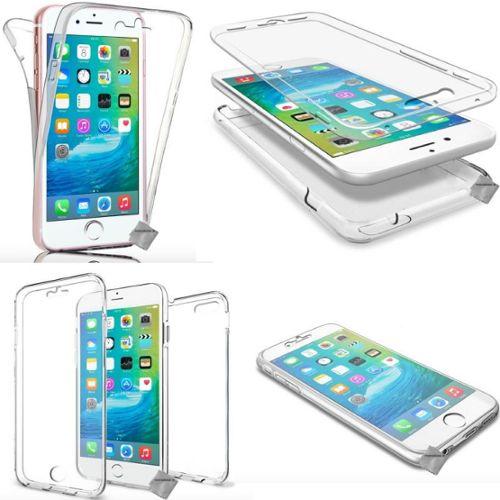 coque iphone xr double face transparente