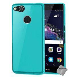 huawei p8 lite 2017 coque silicone bleu