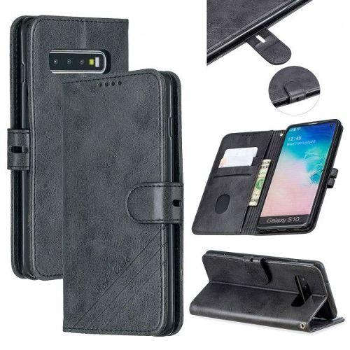 Coque Samsung Galaxy A50Marron A1 Vache Couleur unie Cuir Premium Porte