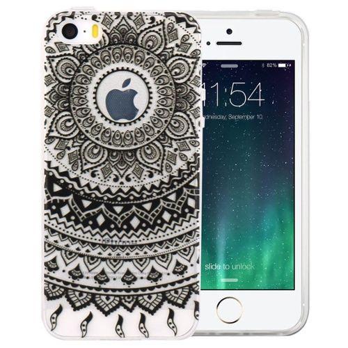 coque iphone 7 silicone mandala