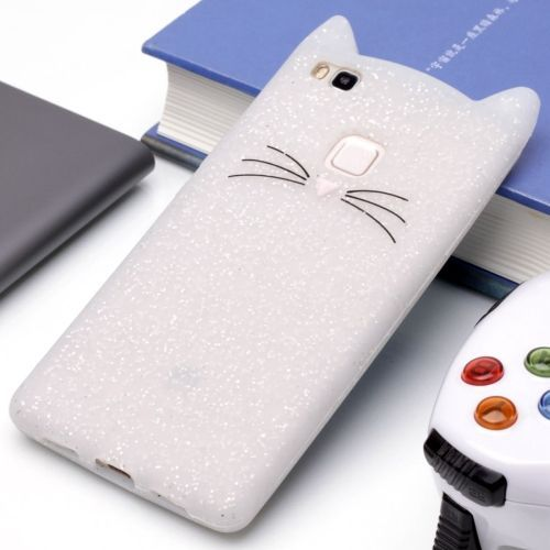 coque silicone chat huawei p9 lite