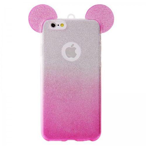 coque iphone 6 plus silicone rose