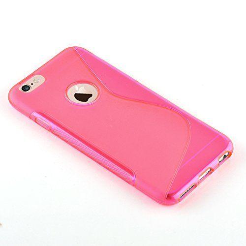 iphone 7 plus coque silicone rose