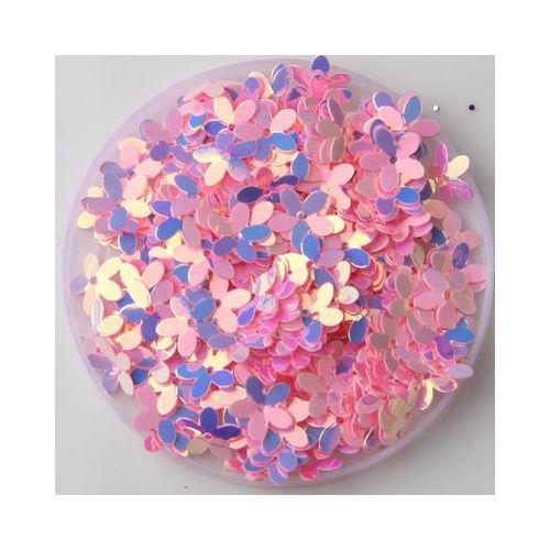 env. Rose vif Mini Résine taille demi perles Flatback Embellissements 500
