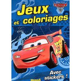 Jeux Et Coloriages Cars 2 Sport Et Loisirs Rakuten