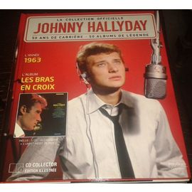 Johnny Hallyday Livre Cd De La Collection Officielle Les Bras En Croix Cd Rares