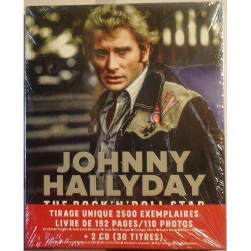 Johnny Hallyday Tirage Unique De 2500 Exemplaires Livre De 192 Pages 110 Photos Et 2 Cd 30 Titres