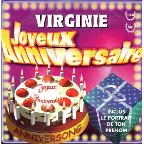 Joyeux Anniversaire Virginie Anniversong Cd Single Rakuten