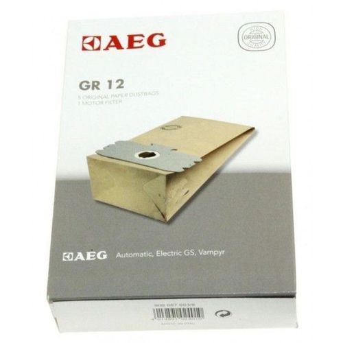 5 Pour adapter ELECTROLUX 506 Aspirateur Papier Sac Pack