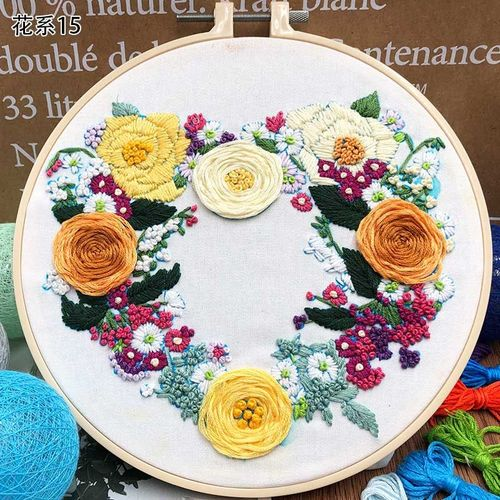 Jaune indien Acrylique Crystal Beaded Tassel Frange Bordure en Dentelle Costume rideaux