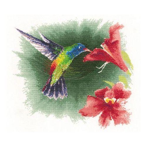 Colibri Watercolor Bird Decor Autocollant De Voiture Vinyle 12 X 12 cm