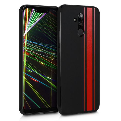 coque huawei mate 20 lite silicone rouge