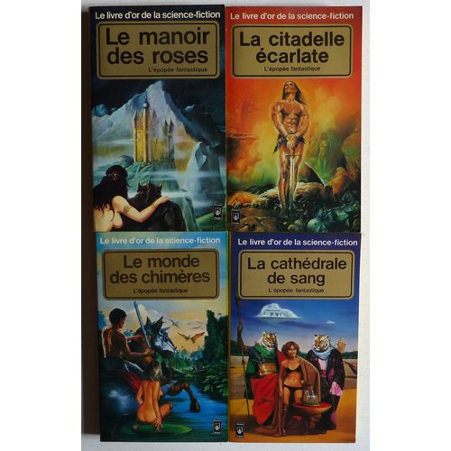 L Epopee Fantastique Heroic Fantasy Complet En 4 Volumes Collection Le Livre D Or De La Science Fiction Dirigee Par Jacques Goimard