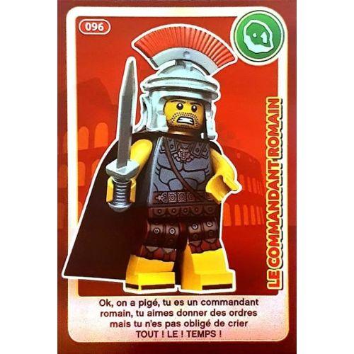 Carte Ninjago Auchan.Le Commandant Romain 96 Carte Lego Auchan Cree Ton Monde 2018