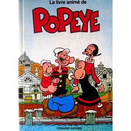 Le Livre Anime De Popeye Fernand Nathan