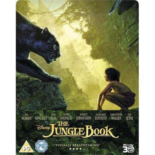 Le Livre De La Jungle 3d Steelbook The Jungle Book 3d