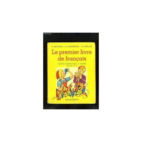 Le Premier Livre De Francais Ce1 Classe De 10e