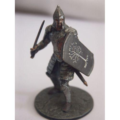 grande variété de modèles 2019 real styles de mode Le Seigneur Des Anneaux Collection Officielle De Figurines En Plomb N°41 Le  soldat Gondorien à Minas Cirith