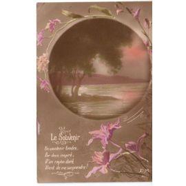 Le Souvenir Couleur Poeme 1918 Fleurs Iris Rakuten