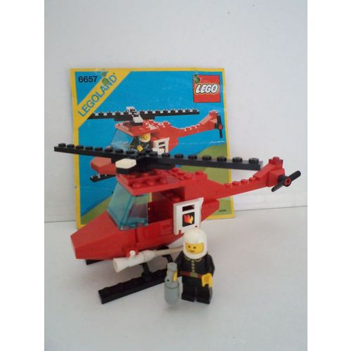 Lego Hélicoptère Pompier Lego 6657 De cjLAR34q5