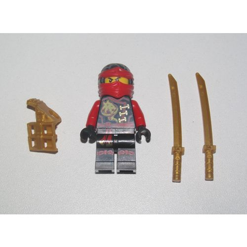 Lego ® Minifig Figurine Ninjago Le Film Ninja Kai Sabres /& Moto du Feu NEW