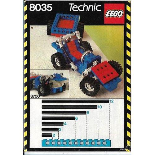 Building Et Hélicoptère 8035 Universal Lego Voiture Technic Set Grue Remorque Vintage ED9IH2