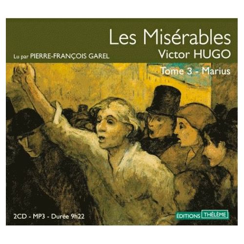 Les Miserables Tome 3 Marius Livre Audio