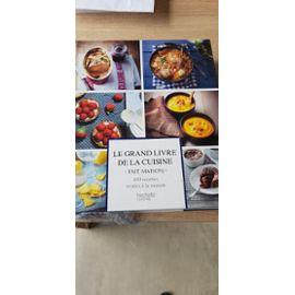 Livre De Recette Fait Maison Fournitures Papeterie Rakuten