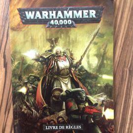 Livre Des Regles V6 Warhammer 40k Edition Compact