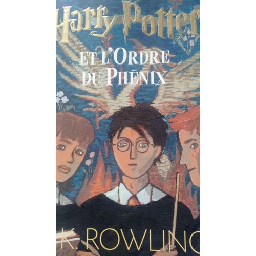 Livre Harry Potter Tome 5