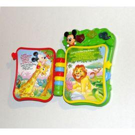 Livre Interactif Parlant Mickey Mouse Jungle Book Baby Clementoni En Anglais