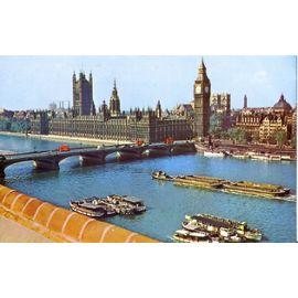 London Londres Le Parlement Et Le Pont De Westminster Houses Of Parliament Westminster Bridge