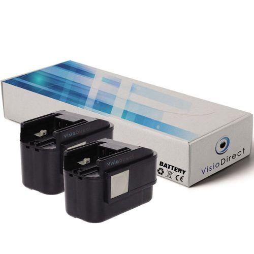D-DW Li-Ion Batterie 10,8v 2000mah pour Makita hp-330 DWLE hs-300