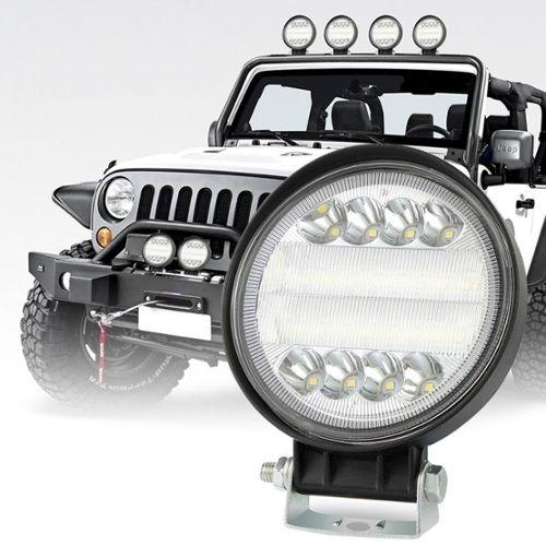 H1 100W LED Phare Kit Ampoules 8000L Canbus pour Peugeot 407 2004-2011 Haut