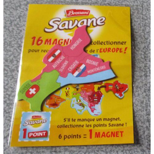 Carte Europe Brossard.Magnet Brossard Collection 16 Magnets Pour Reconstituer La Carte De L Europe Suisse Autriche Hongrie Croatie Bosnie