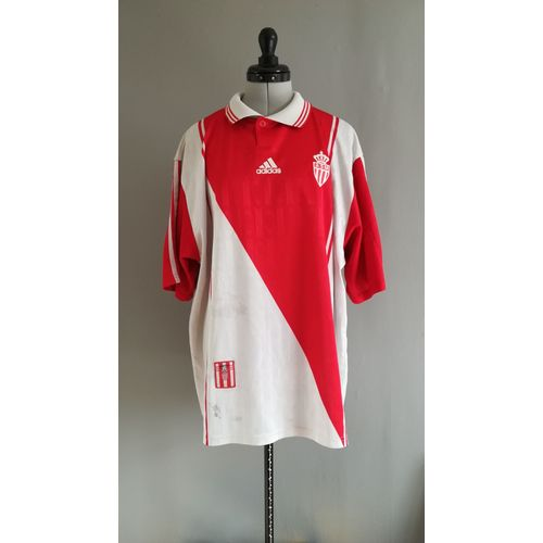 nouvelle arrivee c2611 f3720 Maillot Football Collection AS MONACO 1996-1997 Taille: XL