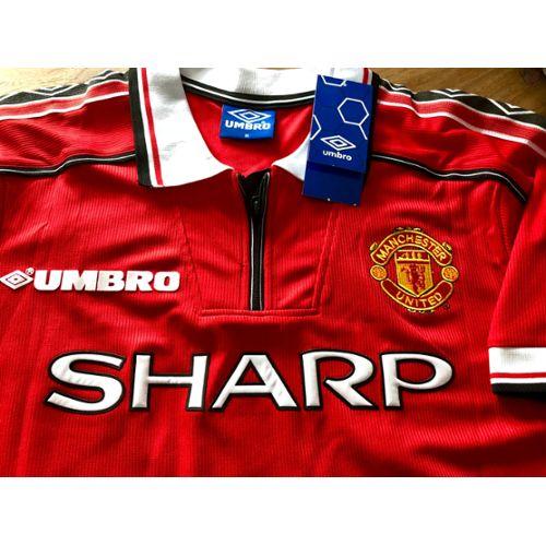 Sweat de Football Hybride Manchester United rouge et noir