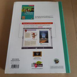 Manuel Scolaire Francais 2nde Specimen Enseignant Livre Unique Aubrit Gendrel Bordas Histoire Litteraire Textes Methode Nouveau Programme