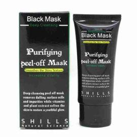 masque boue charbon anti acn anti point noir black mask. Black Bedroom Furniture Sets. Home Design Ideas