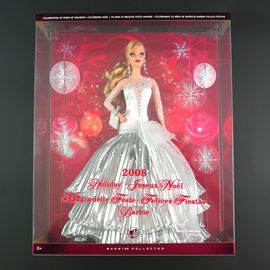 Barbie Noel 2008 Mattel   Poupée   Barbie Collector Joyeux Noel 2008 | Rakuten